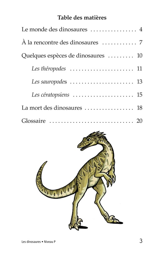Book Preview For Dinosaurs Page 3