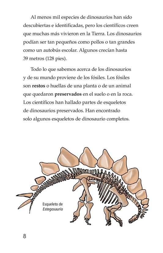Book Preview For Dinosaurs Page 8