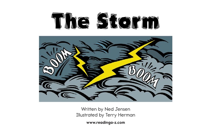 Book Preview For The Storm Page 2