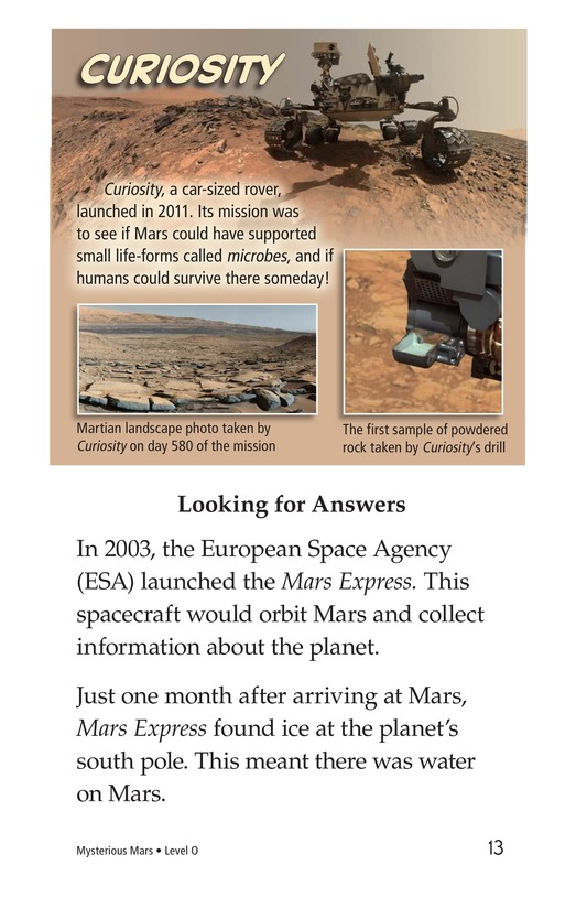 Book Preview For Mysterious Mars Page 13