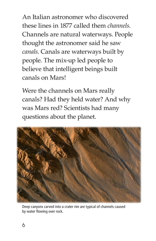 Book Preview For Mysterious Mars Page 6