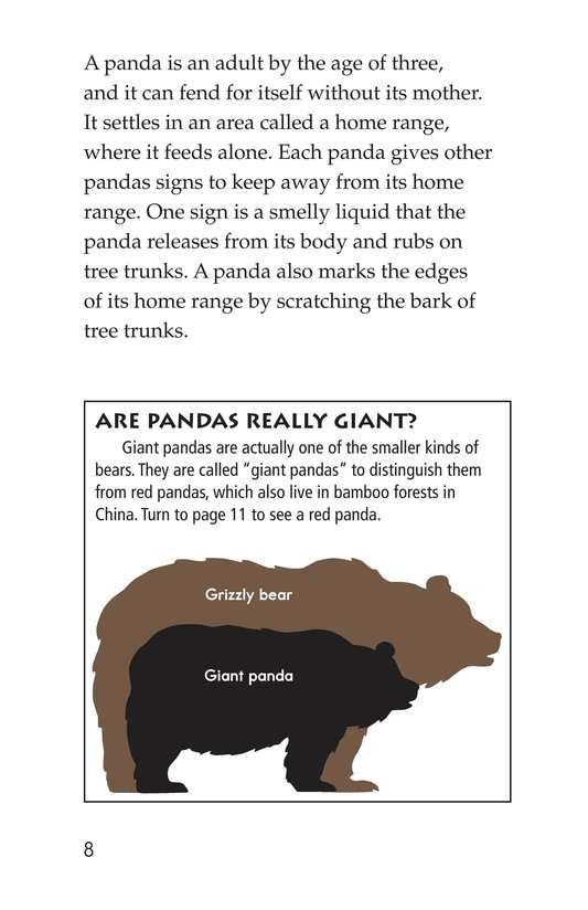 Book Preview For Giant Pandas Page 8