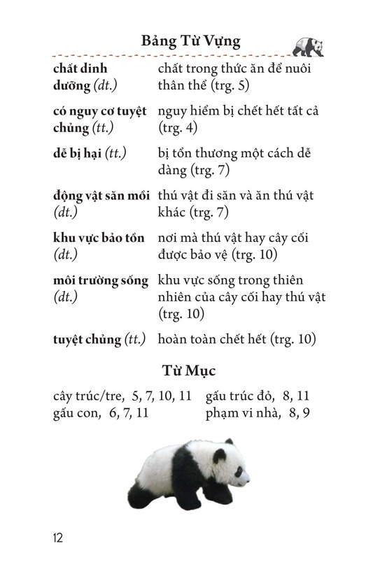 Book Preview For Giant Pandas Page 12