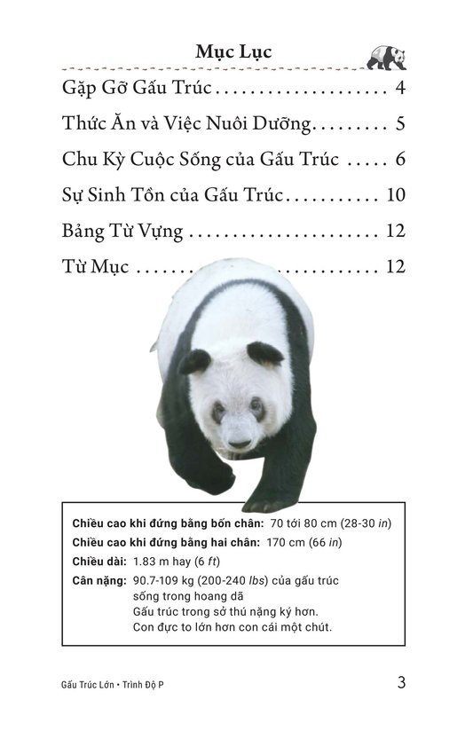 Book Preview For Giant Pandas Page 3