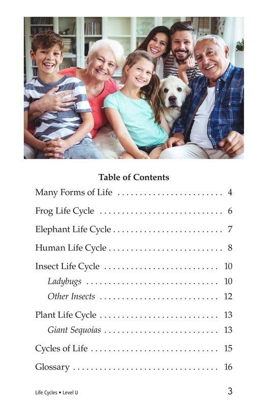 Book Preview For Life Cycles Page 3