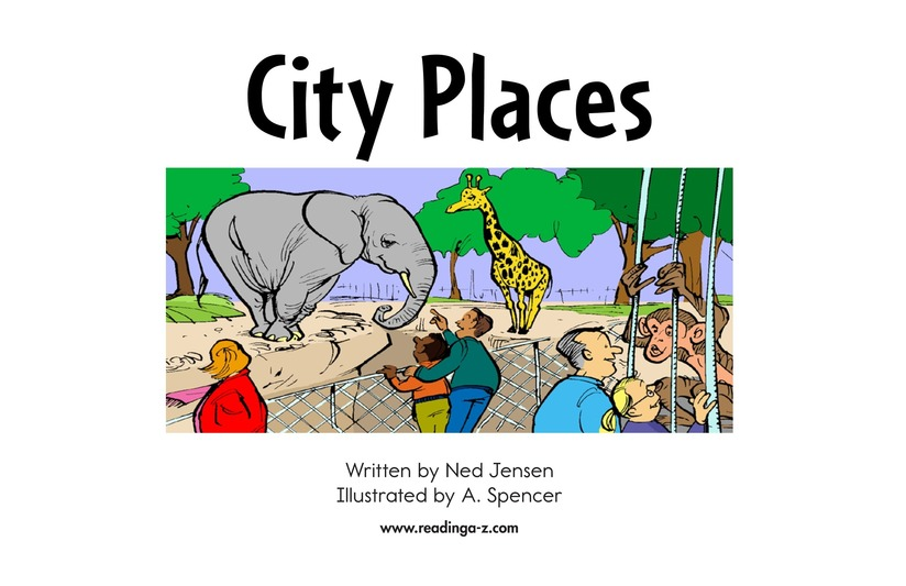 Book Preview For City Places Page 2