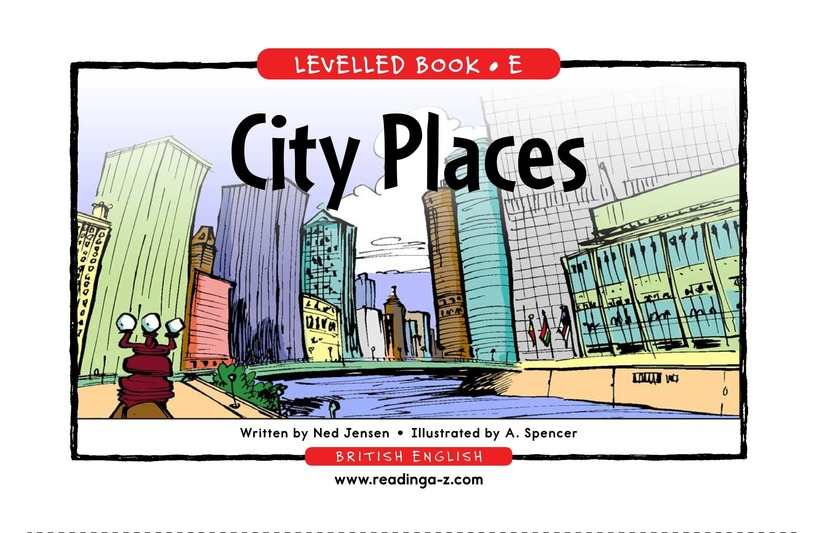 Book Preview For City Places Page 1