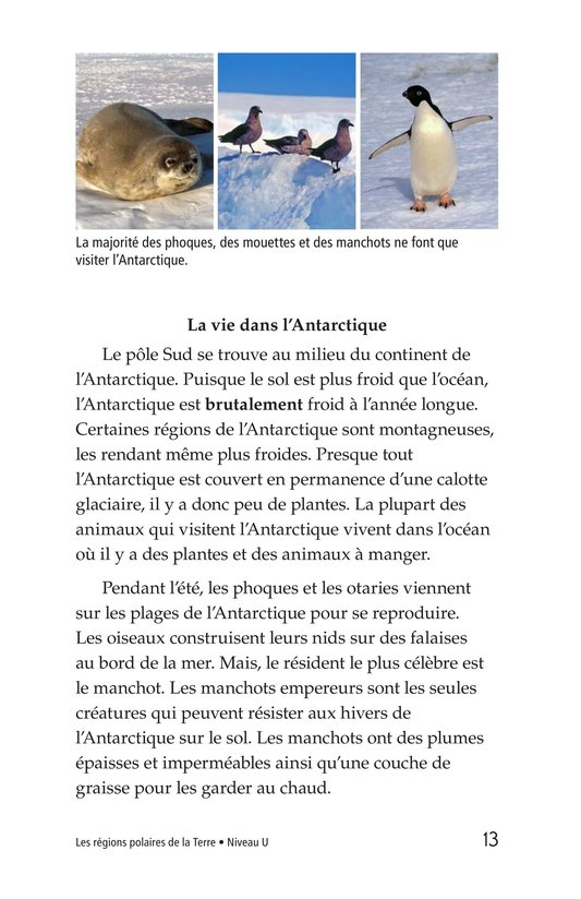 Book Preview For Polar Regions of the Earth Page 13