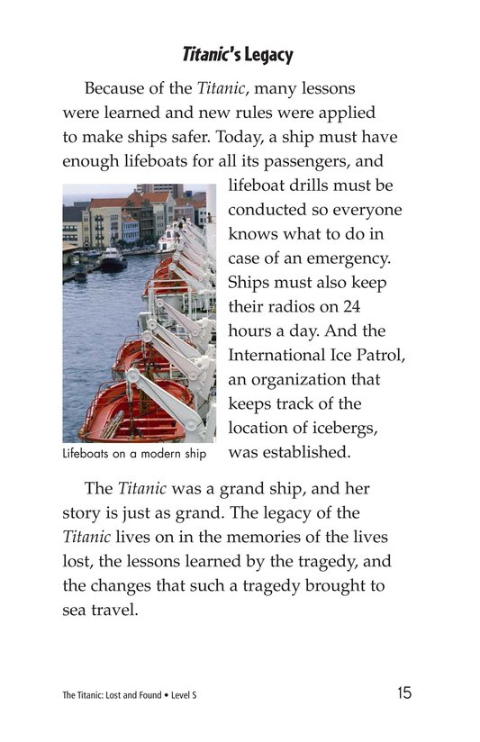 Book Preview For The Titanic: Lost and Found Page 15