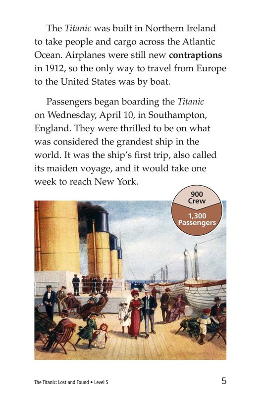 Book Preview For The Titanic: Lost and Found Page 5
