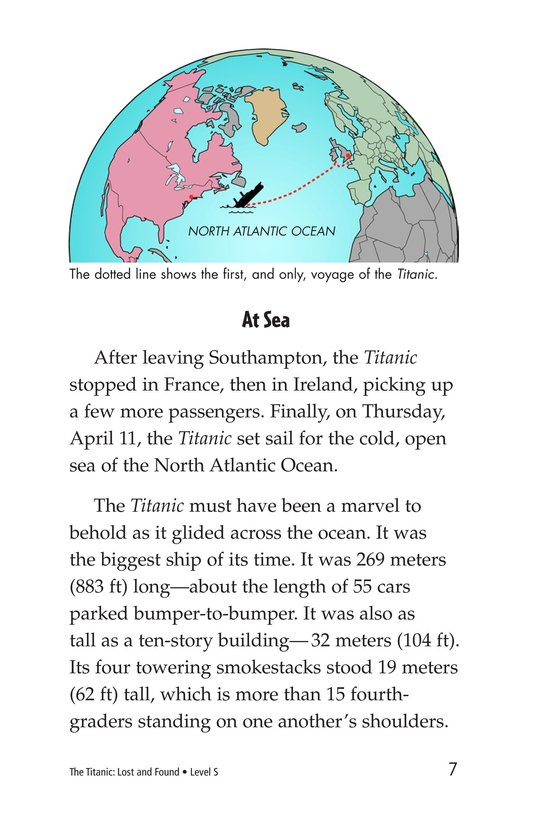 Book Preview For The Titanic: Lost and Found Page 7