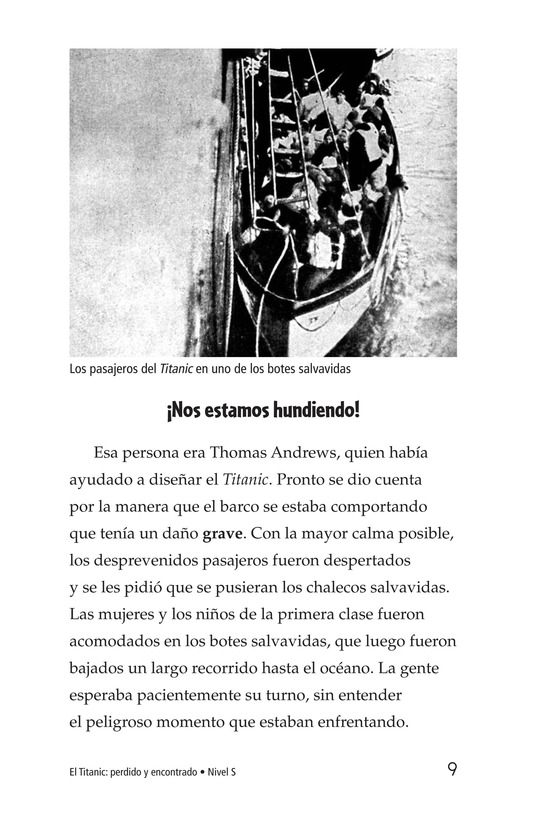 Book Preview For The Titanic: Lost and Found Page 9
