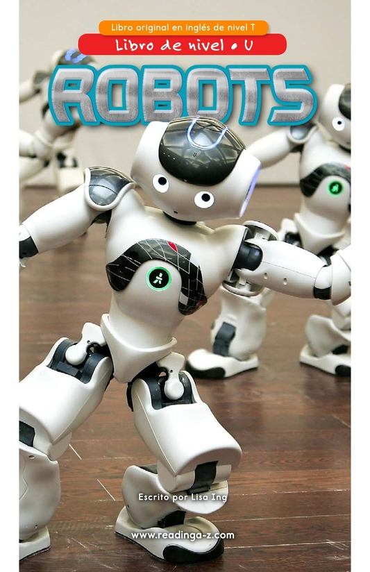 Book Preview For Robots Page 0