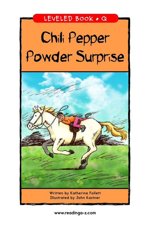 Book Preview For Chili Pepper Powder Surprise Page 1