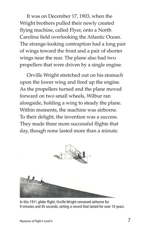Book Preview For Mysteries of Flight Page 7