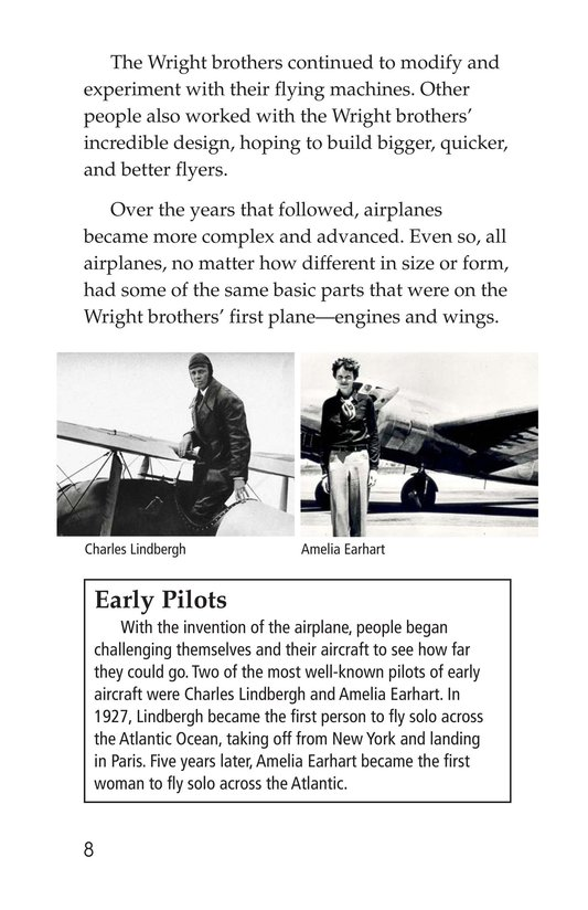 Book Preview For Mysteries of Flight Page 8