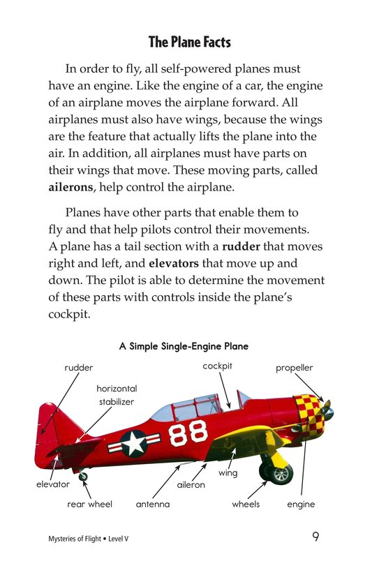 Book Preview For Mysteries of Flight Page 9