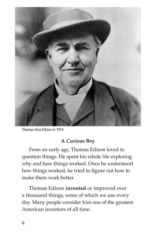 Book Preview For Thomas Edison Page 4