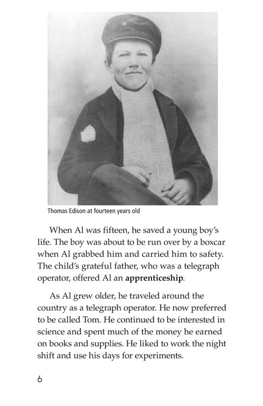 Book Preview For Thomas Edison Page 6