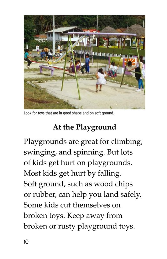 Book Preview For Playing It Safe Page 10