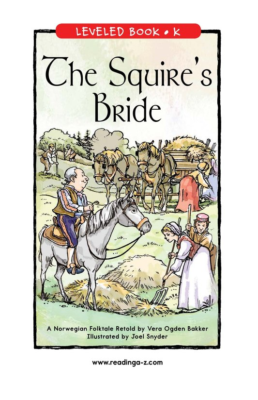 Book Preview For The Squire's Bride Page 1
