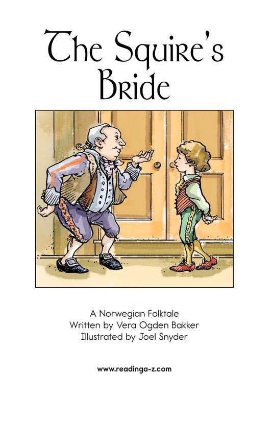 Book Preview For The Squire's Bride Page 2
