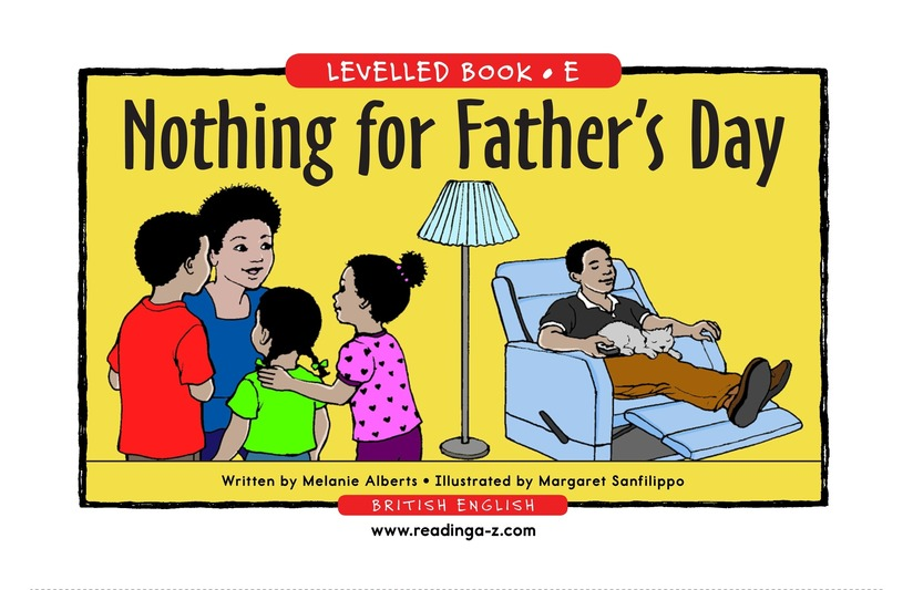 Book Preview For Nothing for Father's Day Page 1