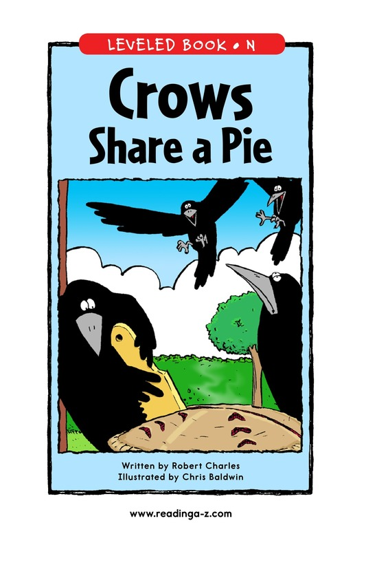 Book Preview For Crows Share a Pie Page 1