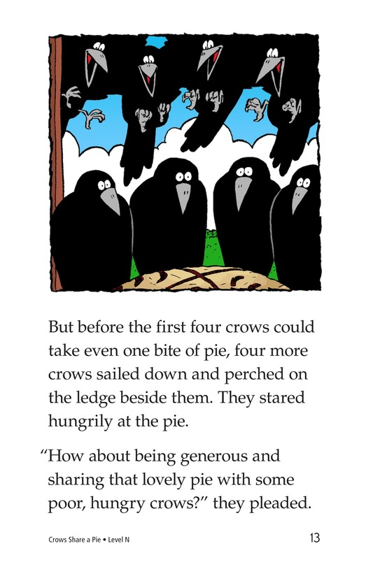Book Preview For Crows Share a Pie Page 13