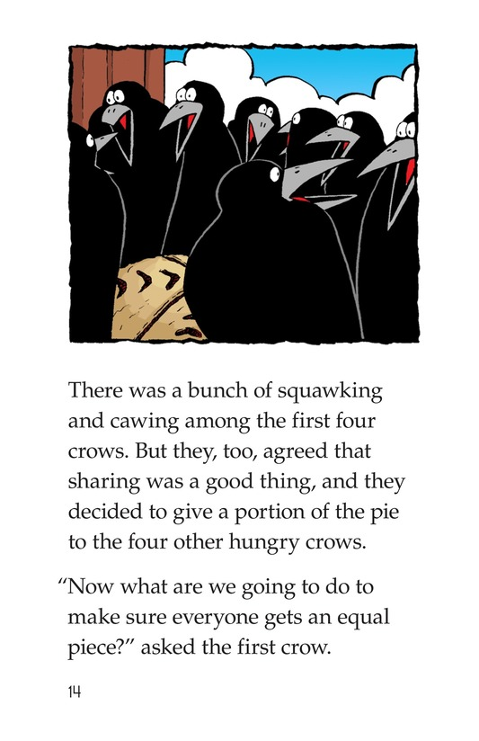 Book Preview For Crows Share a Pie Page 14