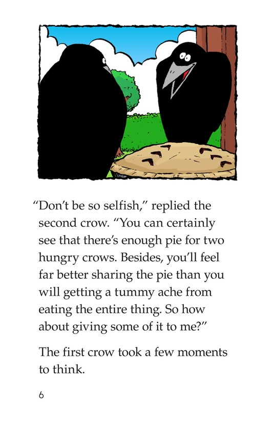 Book Preview For Crows Share a Pie Page 6