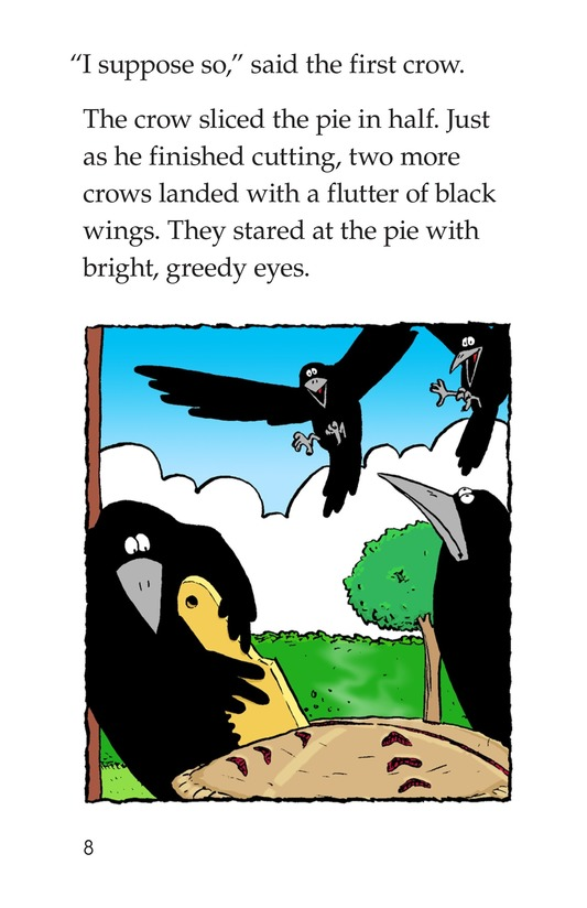 Book Preview For Crows Share a Pie Page 8