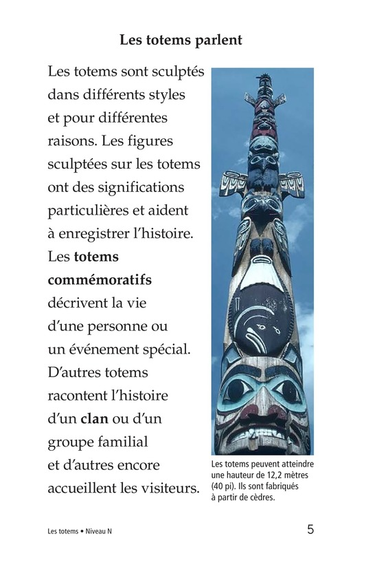 Book Preview For Totem Poles Page 5