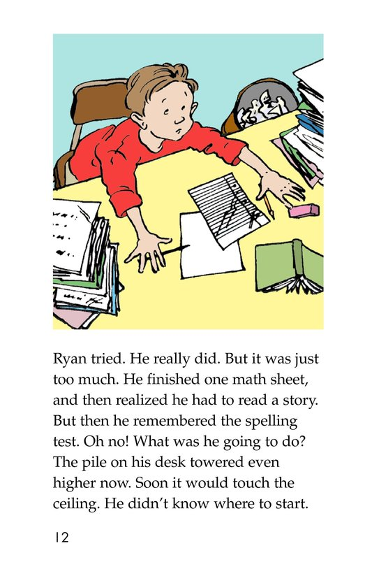 Book Preview For The Homework Lesson Page 12
