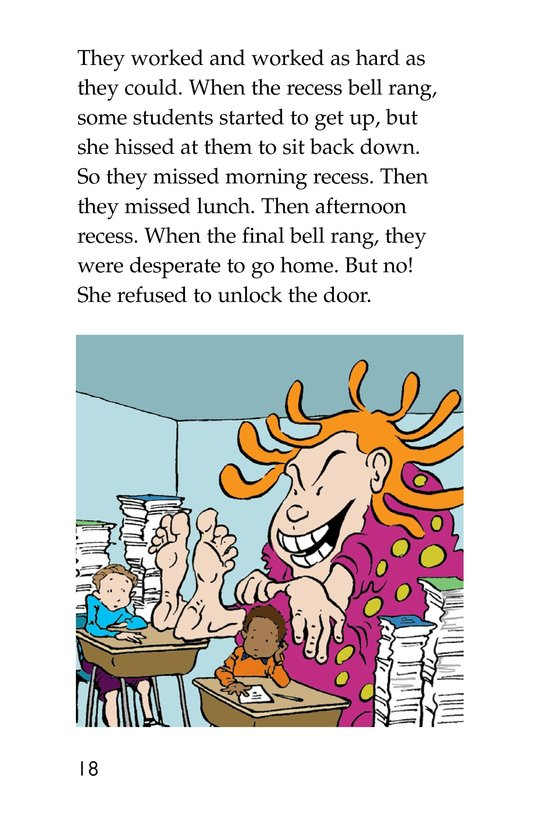Book Preview For The Homework Lesson Page 18