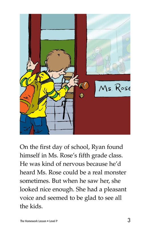 Book Preview For The Homework Lesson Page 3