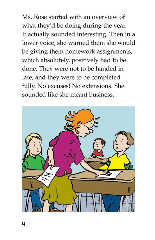 Book Preview For The Homework Lesson Page 4
