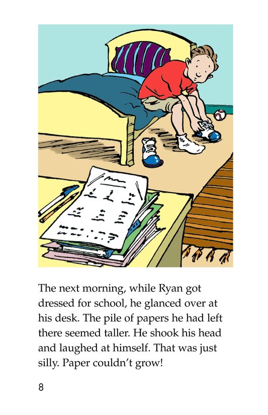 Book Preview For The Homework Lesson Page 8