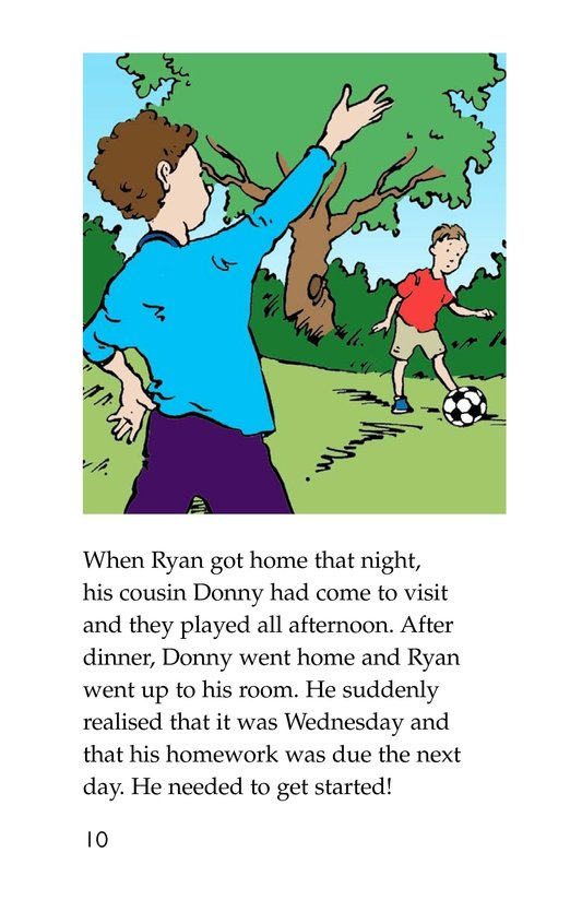 Book Preview For The Homework Lesson Page 10