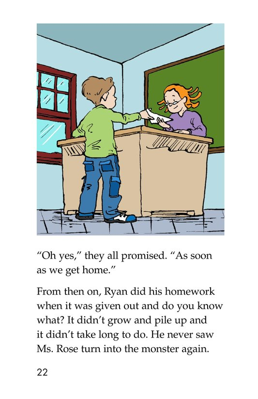 Book Preview For The Homework Lesson Page 22