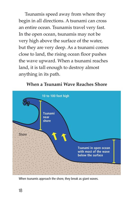 Book Preview For Earthquakes, Volcanoes, and Tsunamis Page 18