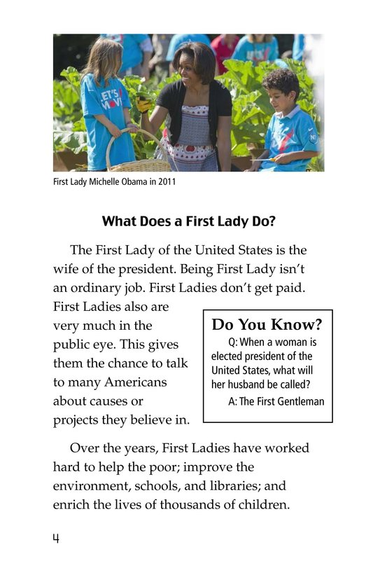 Book Preview For Famous First Ladies Page 4