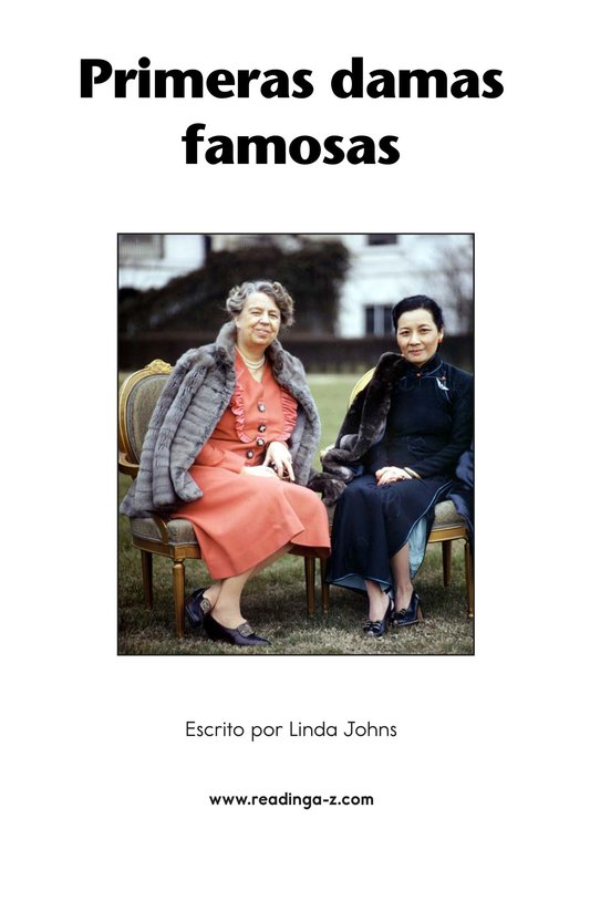 Book Preview For Famous First Ladies Page 2