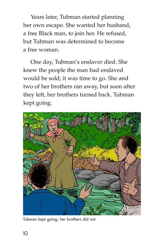 Book Preview For Harriet Tubman and the Underground Railroad Page 10