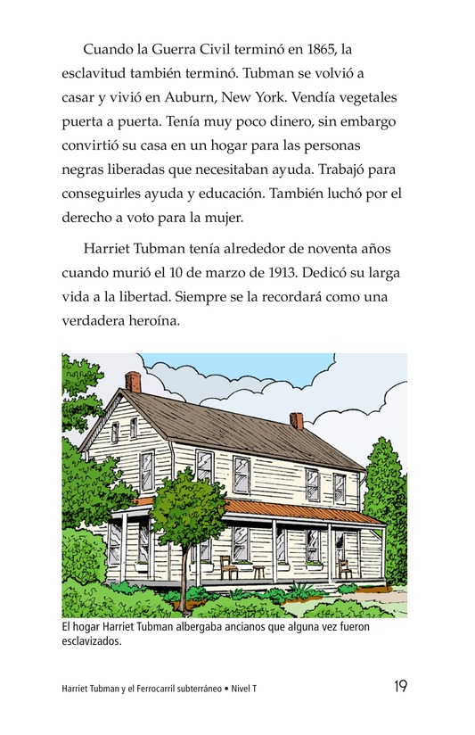 Book Preview For Harriet Tubman and the Underground Railroad Page 19