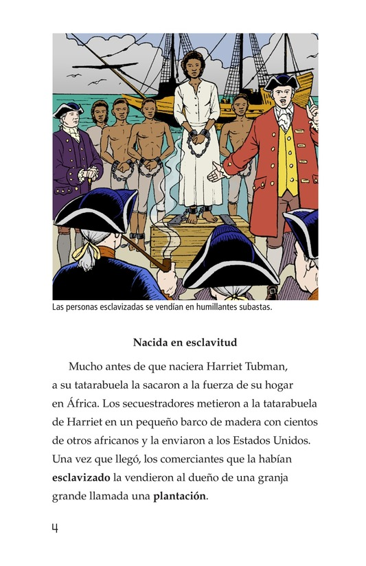 Book Preview For Harriet Tubman and the Underground Railroad Page 4
