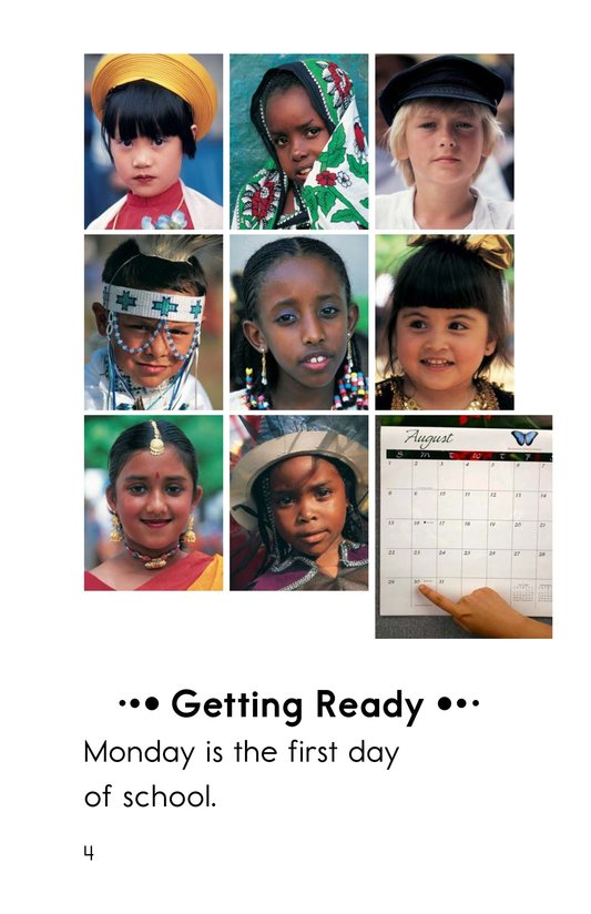 Book Preview For Getting Ready for School Page 4