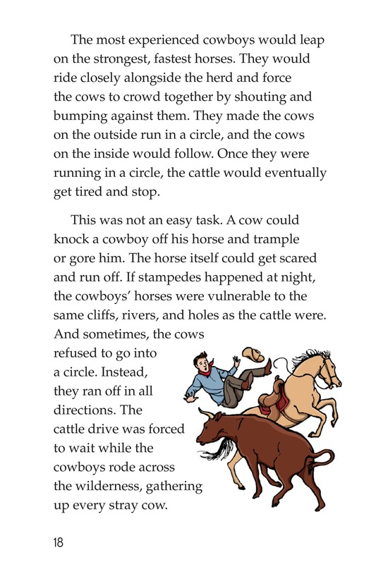 Book Preview For Yee Haw! The Real Lives of the Cowboys Page 18