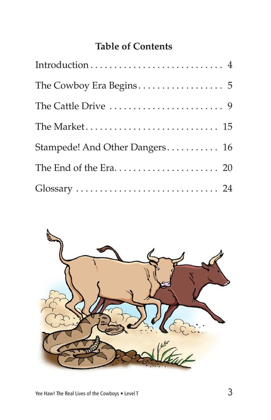 Book Preview For Yee Haw! The Real Lives of the Cowboys Page 3