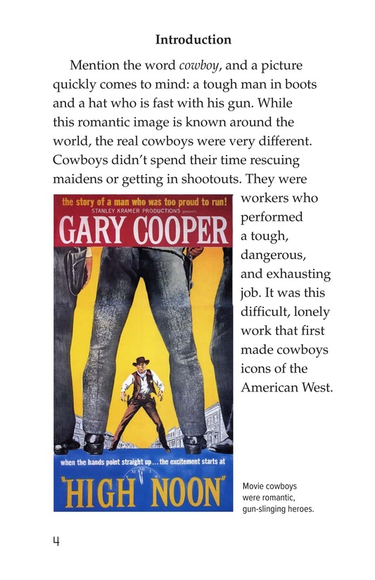 Book Preview For Yee Haw! The Real Lives of the Cowboys Page 4